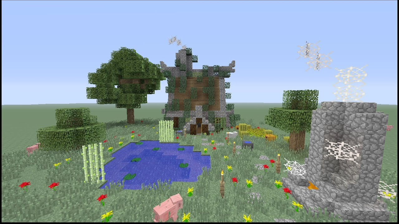 How to build a Small ustic House in Minecraft ( H - Youube - ^