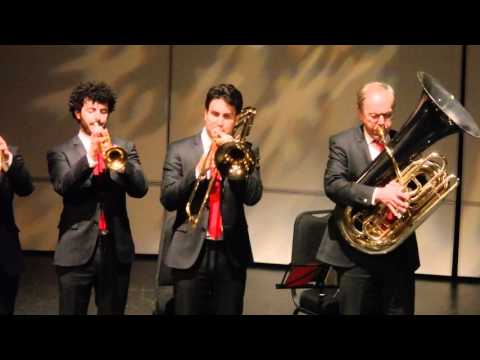 Penny Lane (Canadian Brass at Flato Markham Theater 12- 18- 2015).MOV