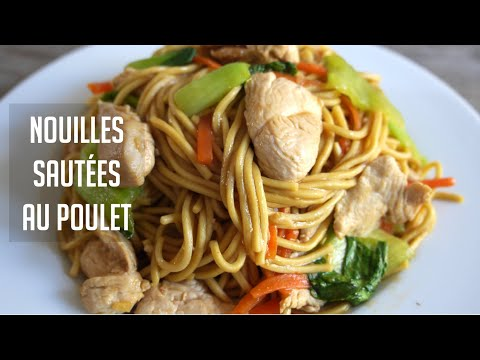 comment-rÉussir-ses-nouilles-sautÉes-au-poulet---recette-chinoise-in-ra-table