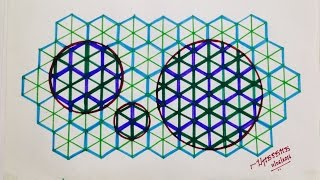 how to draw fractals on paper