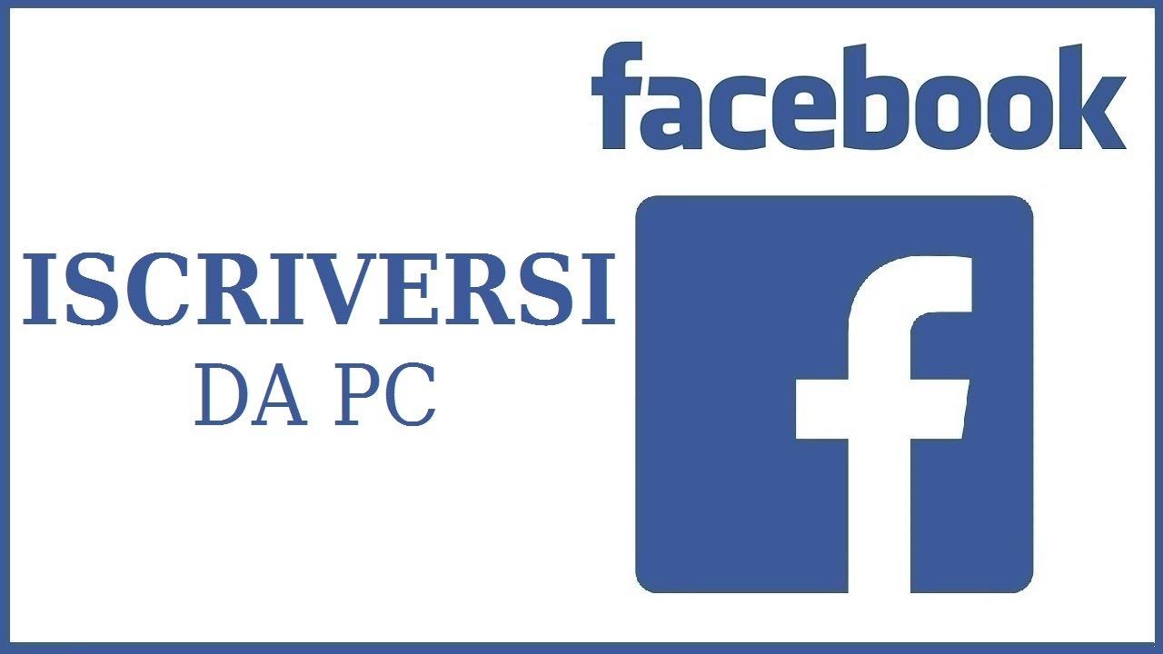 Come iscriversi a Facebook | nigiara.it
