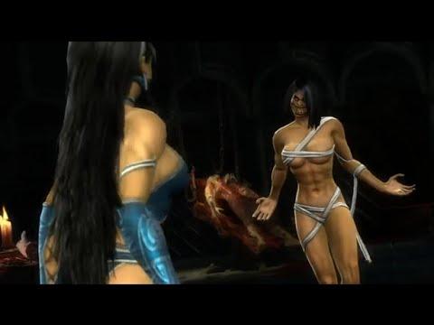 Mileena desnuda mortal kombat xl