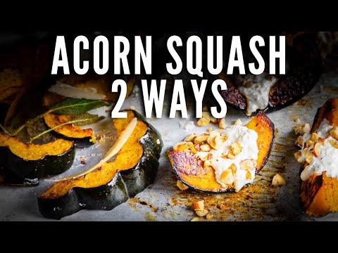 acorn squash with pineapple