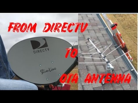 From DirecTV to an OTA antenna | Cord Cutting | Nathan Watne