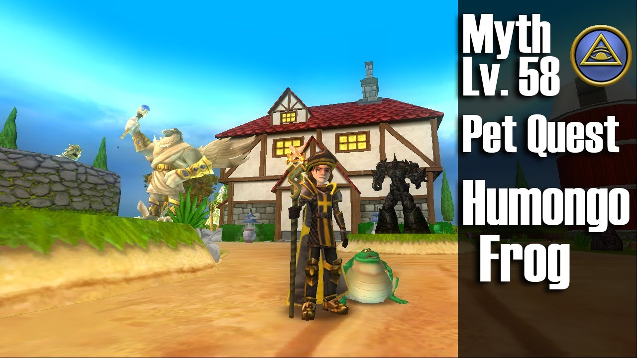 Wizard101 Humongofrog Pet