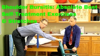 Shoulder Bursitis? Absolute Best Self-Treatment Exercises & Stretches