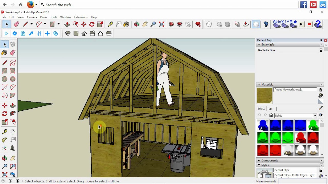 I M Building A 16 X 16 Two Story Workshop Storage Shed