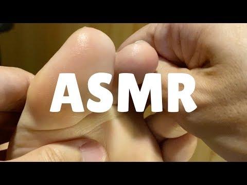 ASMR 足つぼ | ゴリゴリ、スリスリ、ユー・ガット・メール