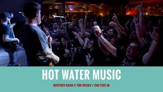 Hot Water Music (Mystery Band)[FULL SET multicam] @ The Fest 16 2017-10-28