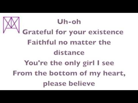 Justin Bieber - All That Matters (Lyrics)