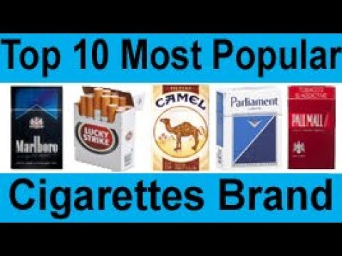 Top 10 Best And Most Luxury Cigarettes Brand In The World Youtube