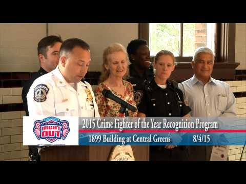 2015 National Night Out Crime Fighter of the Year Indianapolis