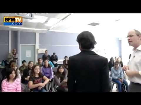 Mariage Gay : la Ministre Najat Vallaud-Belkacem en opération propagande homosexuel dans une école