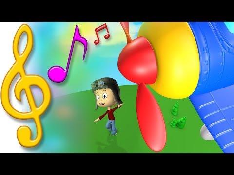 TuTiTu Songs   Airplane Song   Songs for Children with Lyrics