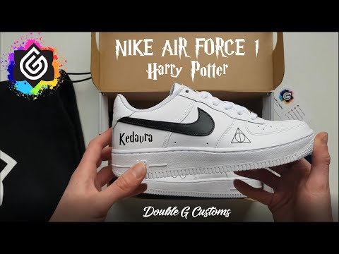 Nike Air Force 1 Harry Potter pour Julinfinity – Double G