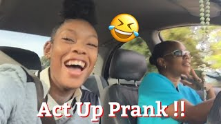 ACT UP PRANK challenge on MOM!! (MUST WATCH)