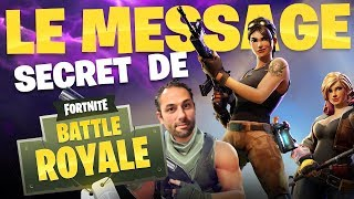 FORTNITE'S SECRET MESSAGE 😮 - Marion and Anne-So