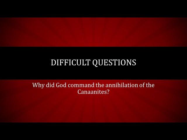 Answers to Hard Questions · 210530 Sunday School · Ross Kilfoyle