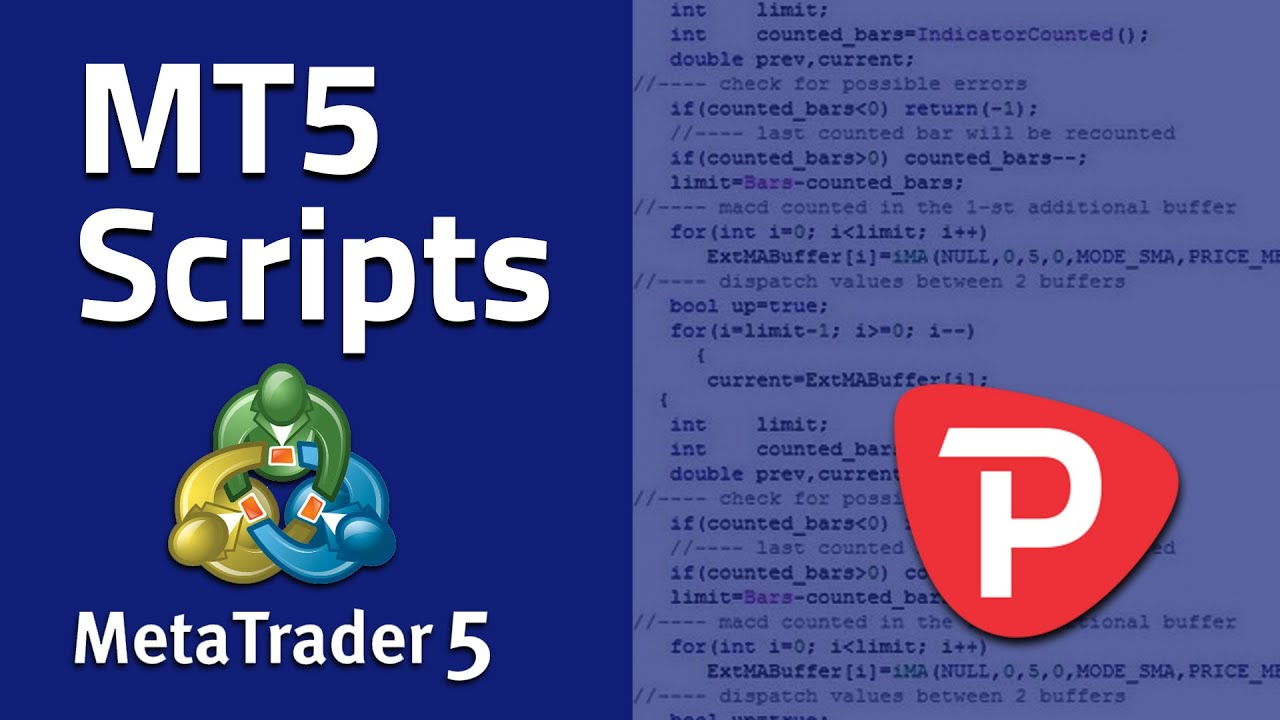 How To Use Scripts In Metatrader 5 Youtube