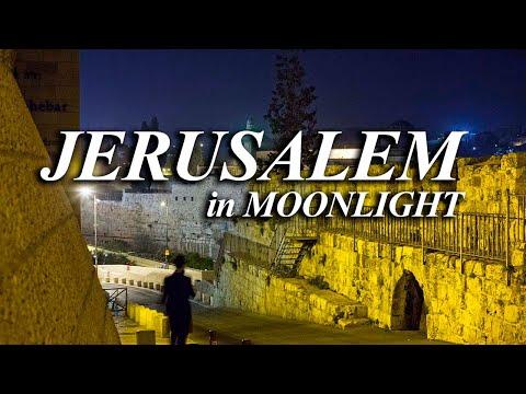 Jerusalem night