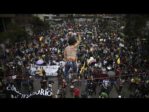 استقالة وزيرة خارجية كولومبيا وسط احتجاجات شعبية ودولية لاستخدام القوة المفرطة…  - نشر قبل 59 دقيقة
