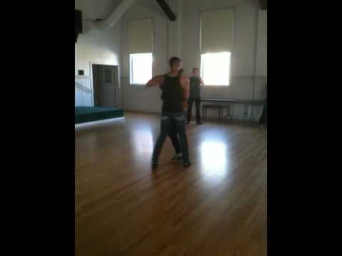 Jay Stylz and Leah Patterson - Salsa Workshop Demo