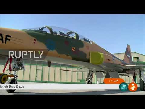 Iran: Rouhani unveils Tehran's first domestic fighter jet 'Kowsar'
