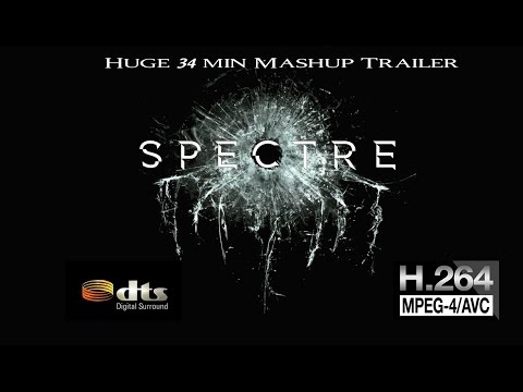 James Bond 007 Spectre Mashup (Classic,Previously on JB, Spectre Trailer and 007 Through the Years)