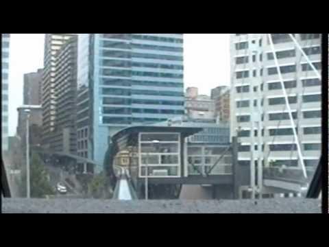 Sydney Monorail - Back Window View (1994)