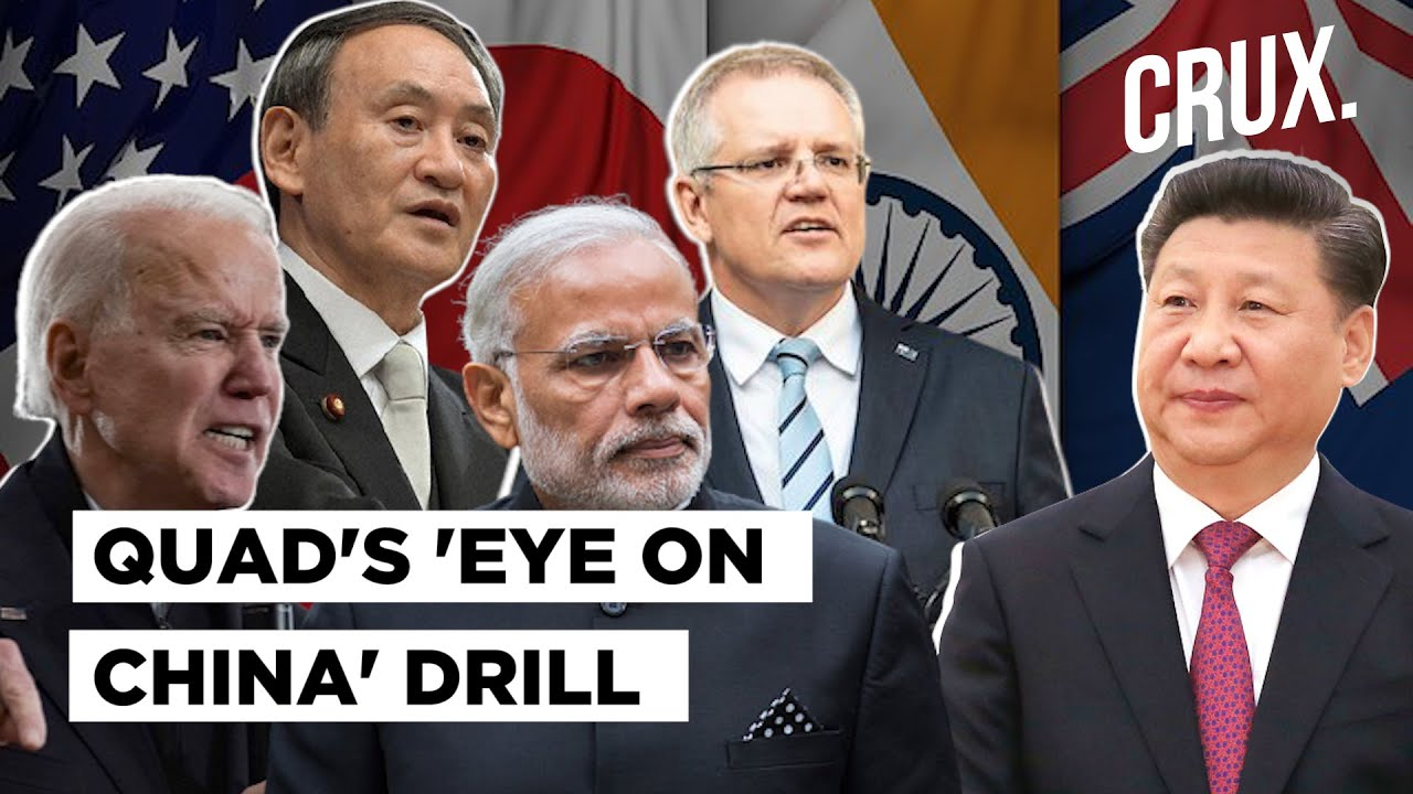 Download India, US, Australia & Japan Get Set For Quad's Malabar Military Drill; China Worried?