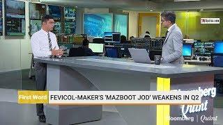 Fevicol-Maker's 'Mazboot Jod' Weakens In Q2