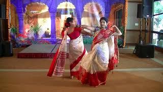 DHAK BAJA KASHOR BAJA| DURGA PUJA |Dance Performance || Shreya Ghoshal |Durga Pujo dance