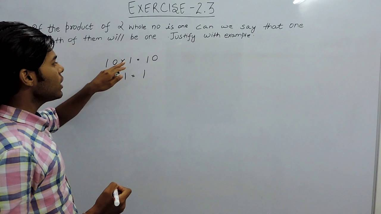 Exercise 2.3 Question 2 NCERT/CBSE Solutions for Class 6th Maths ...