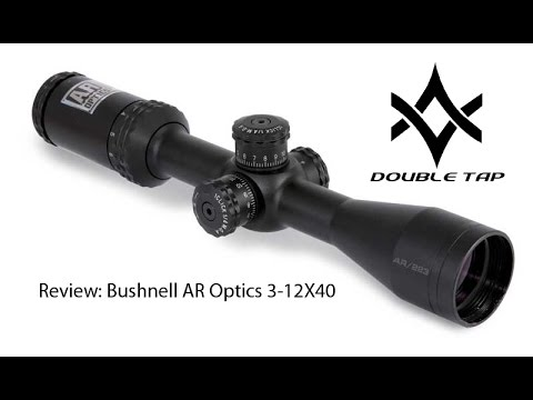Review: Bushnell AR 223 Optics 3-12X40