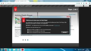 Problème de mise à jour Flash Player