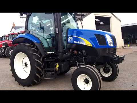 New Holland T6010 Delta 2wd Youtube