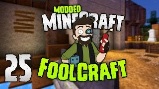 Minecraft: FOOLCRAFT | Ok! The NEW BASE! 👊 | #25 | Modded Minecraft