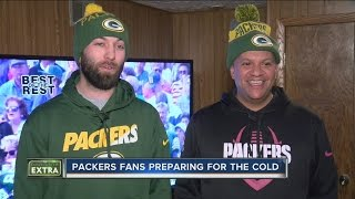 Packers fans prepare for bitterly cold playoff game