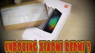 UNBOXING - Xiaomi redmi 3 Hi-Tech Mobile Shop (Buka lapak)