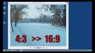 change aspect ratio of a pic in photoshop 16 9