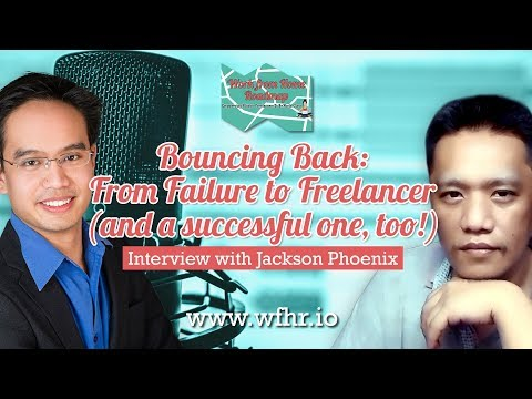 Bouncing Back: From Failure to Freelancer (and a successful one too) | Phoenix Jackson | JasSuccess