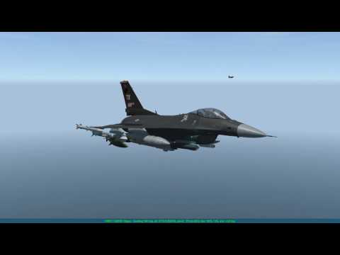 [Falcon BMS 4.33] 669VFS Balkans Campaign Day 1 - Radio Tower Strike