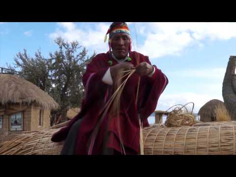 Reed Boat Builders of Lake Titicaca