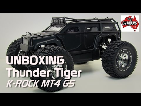 Unboxing: Thunder Tiger K Rock MT4 G5