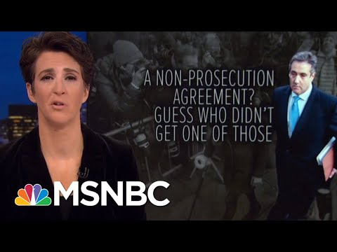 Case Against President Donald Trump Progeny Clearer After Cohen, AMI Deals | Rachel Maddow | MSNBC
