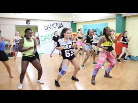 STACIA FYA ||| CONFIDENCE DANCEHALL WORKSHOP ||| TOPUP DI DANCE