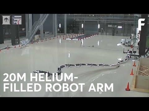 Este brazo robótico de globos de helio podría servir para un cosplay del Dr. Octopus