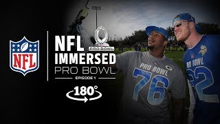 VR180º All-Access at Pro Bowl Practice | Mike Daniels & LeSean McCoy Ep. 1 | NFL Immersed thumbnail
