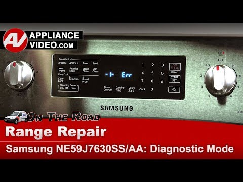 samsung-range-/-oven---diagnostic-mode-and-error-codes