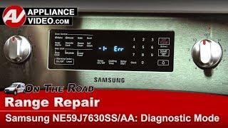 Samsung Range / Oven  Diagnostic Mode and Error codes